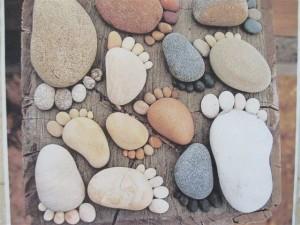 Pieds pierres